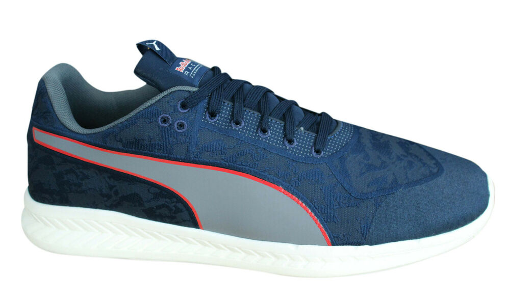 Puma RBR Rouge Bull Racing Mechs IGNITE Stampede Baskets Homme Chaussures 305749 01 D12-