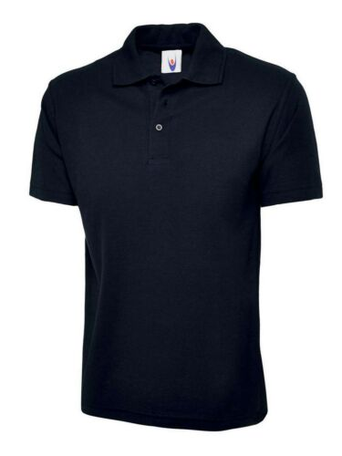 Unisex Classica Maglietta Polo Uomo Donna Workwear staffwear T-SHIRT SPORT
