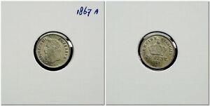 France-20-Centimes-1867-A-Napoleon-III-high-grade