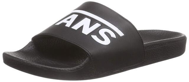 812e567d4a7ea VANS Mens Slide-on Slide Sandals Black 9 for sale online