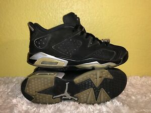 size 40 7e0f0 105ab Image is loading Youth-Air-Jordan-6-Retro-Low-BG-Chrome-