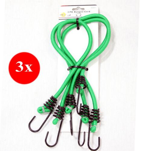 9x Corde Elastiche Fasce Universali con Ganci in Metallo Corda Elastica TUV-GS