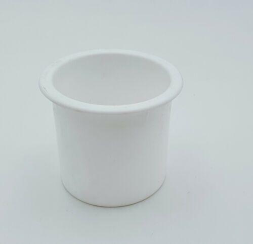 Bootstassenhalter Weiß Cupholder 4 Loch zum Verschrauben PVC Tassenhalter