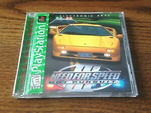 Need For Speed Iii Hot Pursuit Sony Playstation 1 Ps1 Greatest