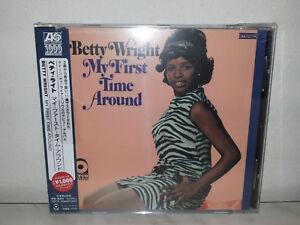 CD-BETTY-WRIGHT-MY-FIRST-TIME-AROUND-JAPAN-OBI-EU-PRESS-NUOVO-NEW