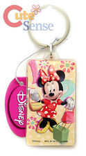 Disney Minnie Mouse Key Chain Holder Acryl Plastic Pendant
