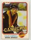 1981 O-PEE-CHEE Colin Campbell #333 Hockey Card