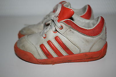 Volitivo Adidas Scarpe Da Ginnastica Sneakers Scarpe Sportive Scarpe Da Corsa Scarpe Basse Vera Pelle Tg. 22- Top Angurie