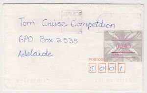 Stamp-Australia-45c-Emu-Frama-cliche-A59-on-1993-cover-used-in-Adelaide