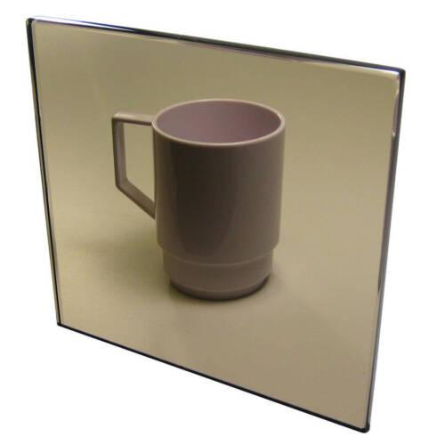 "1//4/"" Bronze Smoke 24/""x12/"" Tinted Acrylic Plexiglass Sheet Transparent AZM 6mm"