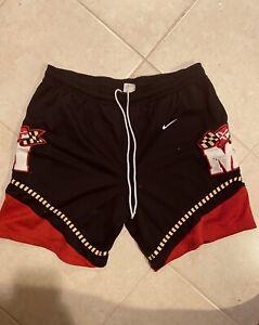 Maryland-Terrapins-Championship-Basketball-Game-Shorts-Vintage-Gym-Clothes