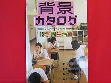 How to Draw Manga (Anime) book / Background catalog for school