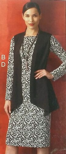 Vogue 951 Womens Misses Wardrobe Jacket Dress Pants Skirt Top Vest XS to XXL