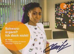 Charity-Laufer-Autogrammkarte-original-signiert-TV-Serie-Dr-Klein