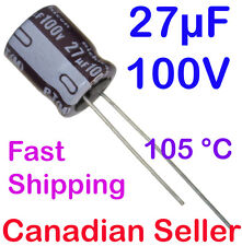 Nichicon Elko condensateur axial tvx2a100mad 10uf 100 V 6,3x12mm #bp 4 pc