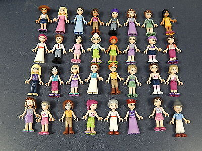 Lego Friends Minifigure Figure As Shown In Picture 100/% Lego USA Seller  FR#3