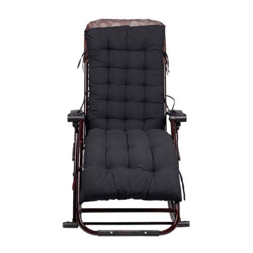 Hot lounge chaise longue Coussin Épaissir Hiver Chaud Doux Patio Jardin Siège Pad Mat