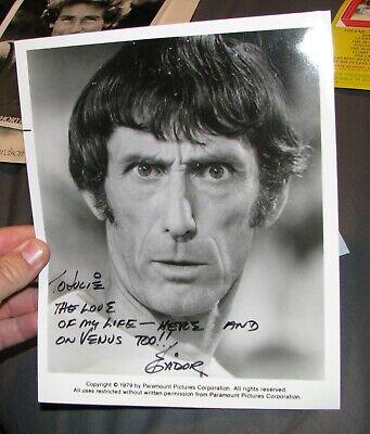 "Robert ""exidor"" Donner Television Signed Autographed To Julie Mork & Mindy Entertainment Memorabilia Autographs-original"