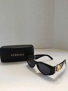 f9e2ac5b7d Gianni Versace Sunglasses MOD 424 COL 852 BK Made In Italy Case ...
