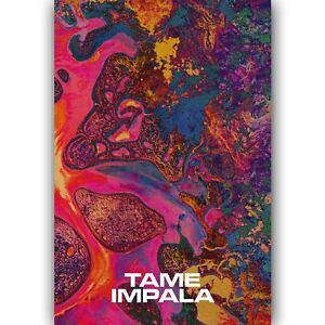 Custom Tame Impala New Silk Poster Wall Decor