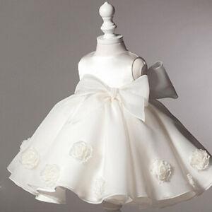 Nuovo-abito-bambina-battesimo-cerimonia-feste-tutu-compleanno-girl-party-dress