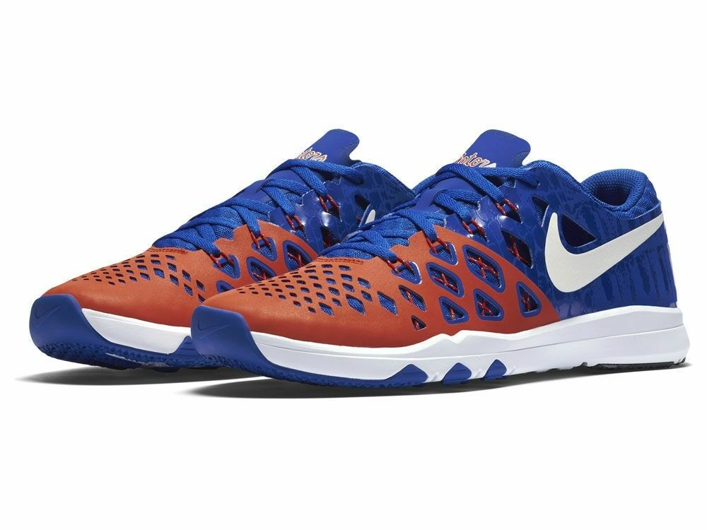 New - Nike Men's Florida Gators Sneakers - Train Speed 4 Amp shoes - Size 8