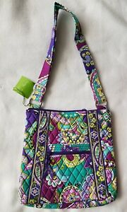 6432a09dcc Image is loading NWT-Vera-Bradley-Hipster-HEATHER-Crossbody-Bag-Messenger-