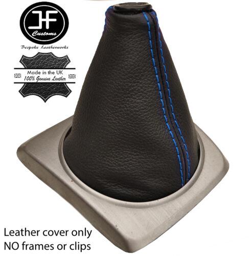 Costura Azul Manual de couro real Bota Shift Compatível Com Honda Civic Si 2006-2011