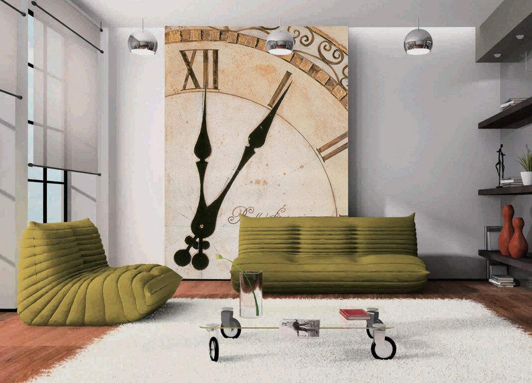 3D Watch Pattern Paper Wall Print Wall Decal Wall Deco Indoor Murals