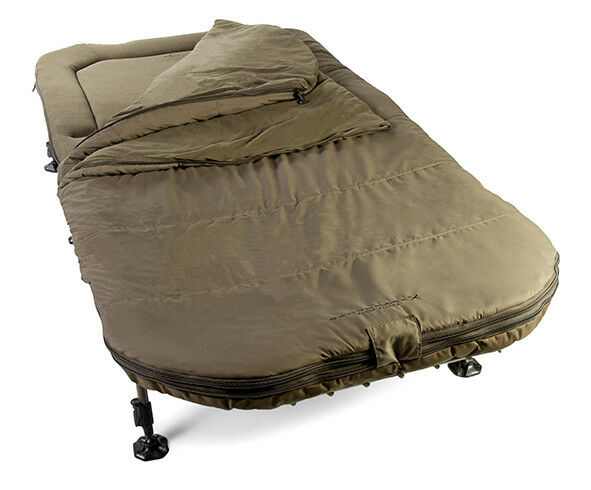 Avid Carp Benchmark X Memory Foam Sleep System Wide Fishing Bed XL NEW 2018