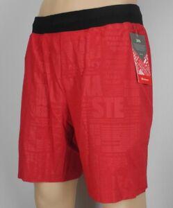 NEW-LULULEMON-T-H-E-Short-9-034-20Y-M-L-XL-XXL-Dark-Red-Manifesto-Shorts-FREE-SHIP