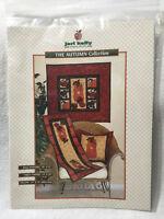 Jeri Kelly The Autumn Collection Quilt Pattern Pumpkin Pillow Wall Hanging