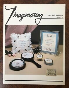 Imaginating-Counted-Cross-Stitch-Pattern-LOVE-AND-MARRIAGE-New