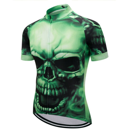 WEIMOSTAR Men Cycling Jersey Team Bike Clothing Short Sleeve Bicycle T-Shirt Top