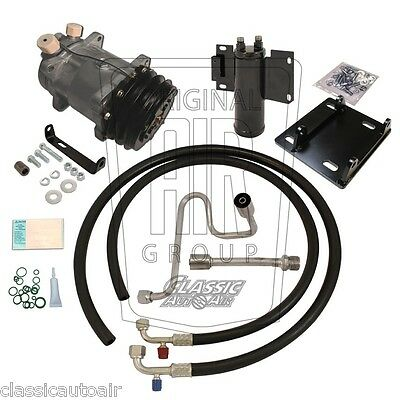 78-79 Ford Bronco Hi-Po A/C Rotary Compressor Upgrade Kit 134a Air Conditioning