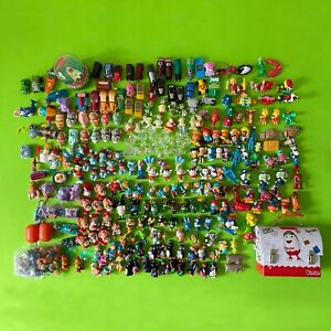 LOT OF 253 PIECES OF KINDER SURPRISE FERRERO MANY DIFFERENT YEARS & COUNTRIES