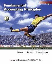 Fundamental Accounting Principles, John J. Wild, Kermit D. Larson, Barbara Chiap