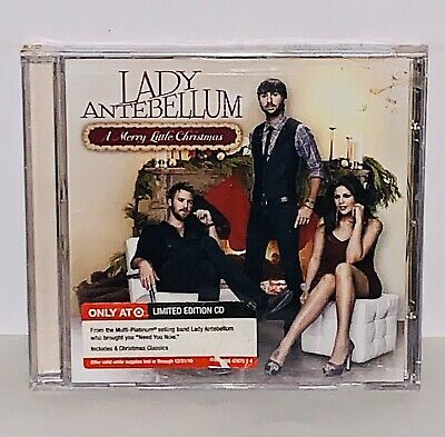 Factory Sealed (shrink wrapped) A Merry Little Christmas by Lady Antebellum CD | eBay