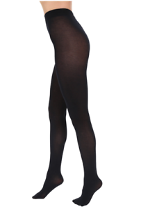Cotton S 7718 Dames Falke Sz m 4004758572822 Touch Tights Dark Navy 7ZzW4