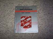 toyota 4runner manuals literature 1991 toyota 4runner electrical wiring diagram manual sr5 2 4l 3 0l 4cyl v6
