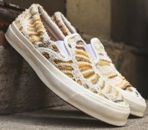 CONVERSE x MISSONI  Deck Star Slip-On  Textile Skate Shoe Men s US 9 ... 5e06f1fa5