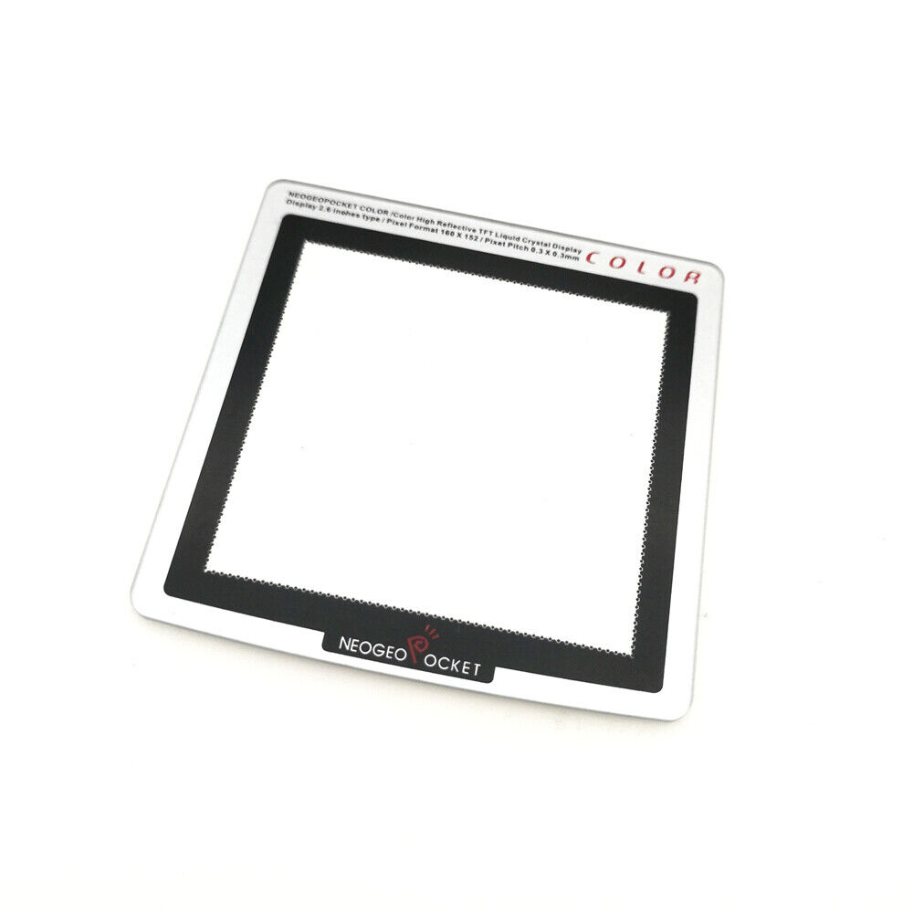 NEW Plastic Replacement Screen lens for the NGP Neo Geo Pocket Color Console