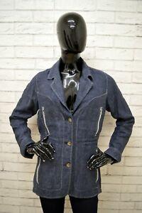 Giacca-MARLBORO-CLASSICS-Donna-Taglia-Size-M-Giubbino-Blazer-Jacket-Woman-Lino