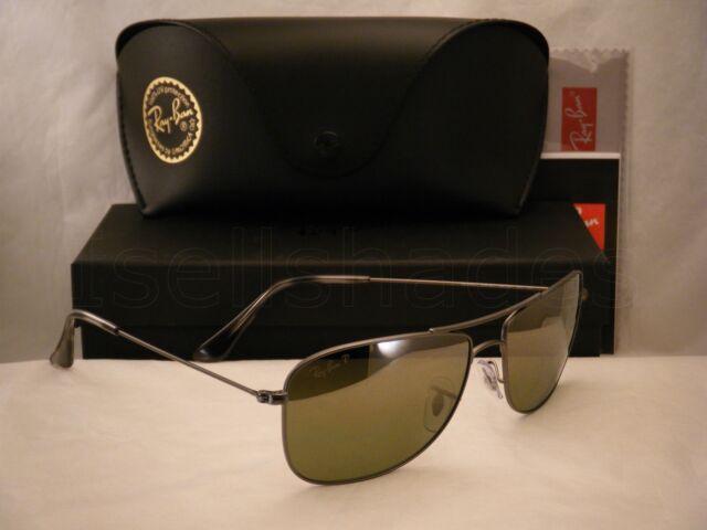 e30640a4ed3 Ray-Ban Polarized Green Mirror Chromance Mens Sunglasses - Rb3543 ...