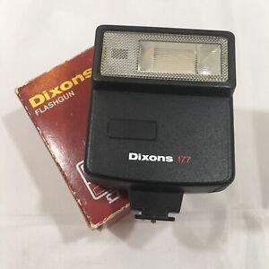 Dixons-177-Flashgun-Auto-Manual-Hot-Shoe-Attachment-Boxed