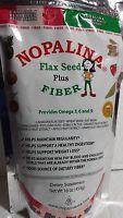 Nopalina Flax Seed Plus Fiber Net Wt 16 Oz Exp 10/2017 Powder Unisex Dietary Sup