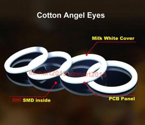 RF cotton RGB LED halo rings for nissan maxima 2009-2015 headlight angel eye DRL