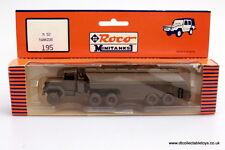 Roco MiniTanks 195, M52 TRACTOR & FUEL TANKER, HO 1/87 EX Shop Stock, OOP MIB