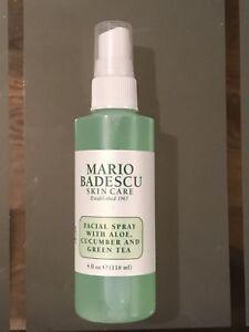 Mario-Badescu-Facial-Spray-With-Aloe-Cucumber-amp-Green-Tea-4-oz-Brand-New