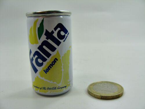 ca Getränkedose Miniatur Fanta Lemon 3 gefüllt 5 cm hoch Ø ca.2,6 cm